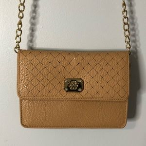 Handbags - 2/$22 — Light Brown and Gold Crossbody Bag